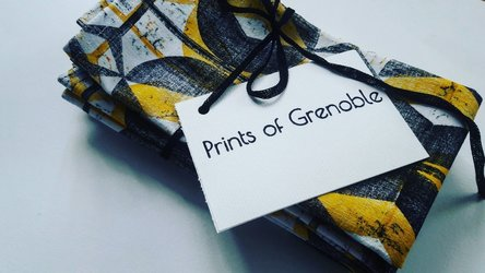 Prints of Grenoble - notebook